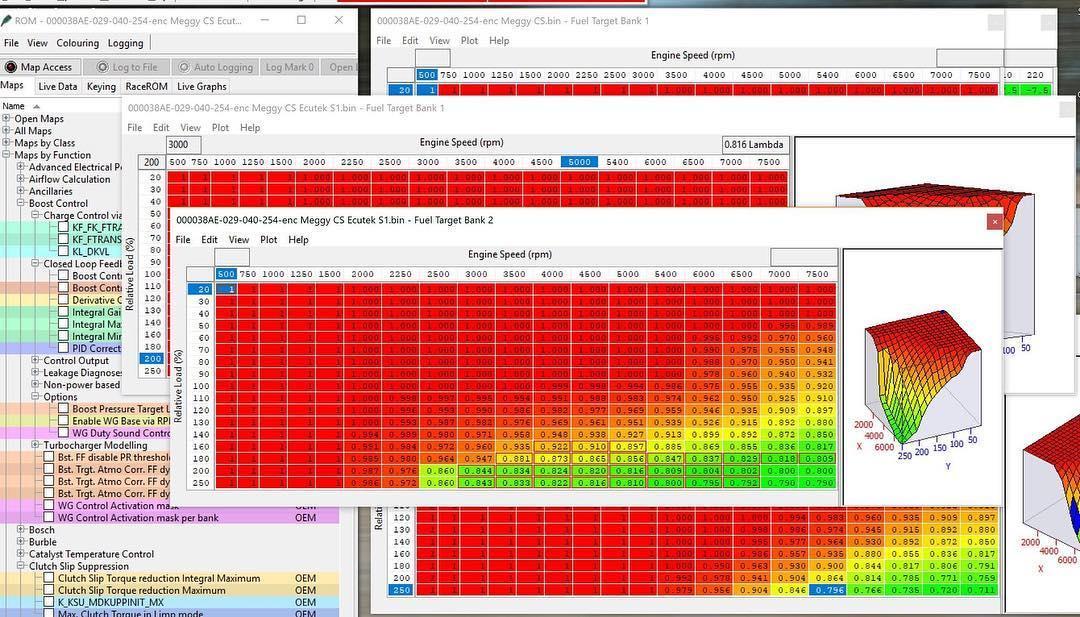 ECUTECK Mapping Tuning Chiptuning Leistungssteigerung Software Programmierung
